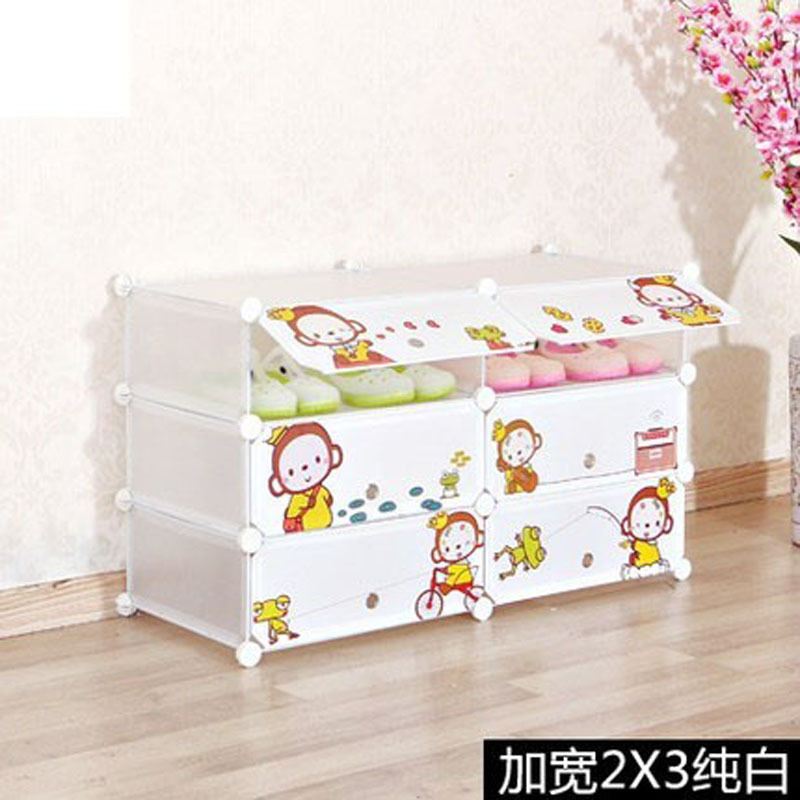 clothing armoire kids closet organizer childrens wardrobe diy wardrobe for bedroom small closet solutions(China (Mainland))