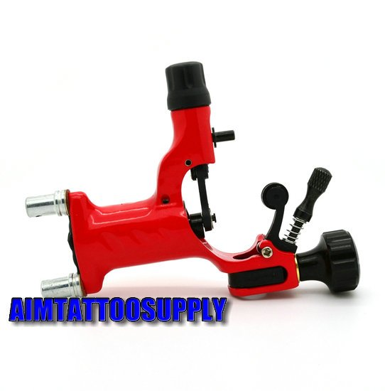rotary tattoo machine dragonfly red adjustable hybrid shader liner sale - SUE WANG Tattoo supplies store