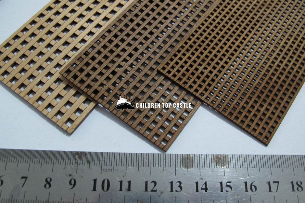 NEW Wooden Sailboat model assembled parts grille plate 1.5/2/3 mm(China (Mainland))