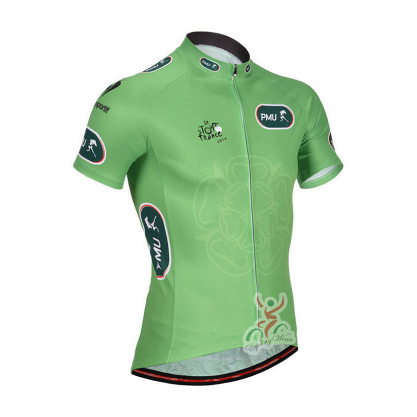 Hot Sale! Tour de France cycling jersey Pro Team summer style Short Sleeve/Quick-Dry Bike Bicycle Clothes maillot Ropa Ciclismo(China (Mainland))