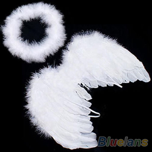New Infant Newborn Baby Kids Angel Fairy Feather Wing Costume Photo Prop for Children's Day Gift Present Items 1CMU(China (Mainland))