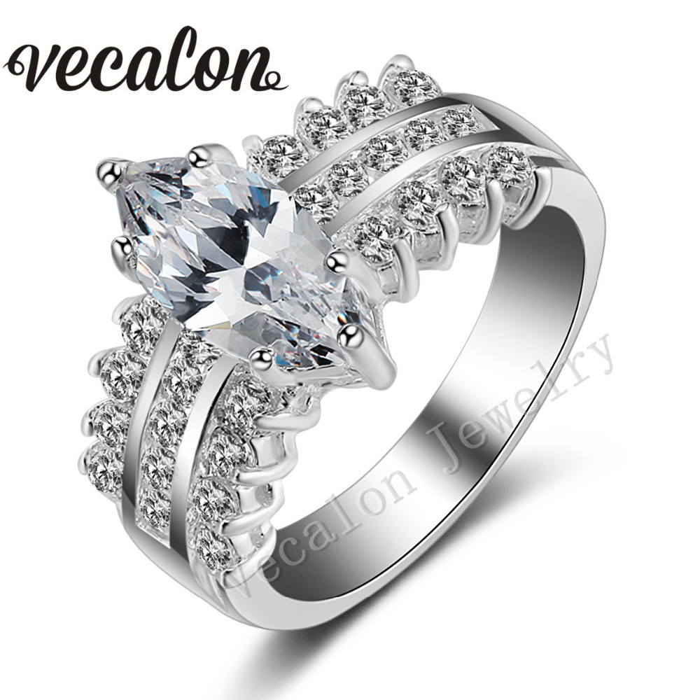 get cheap marquise cut engagement ring aliexpress