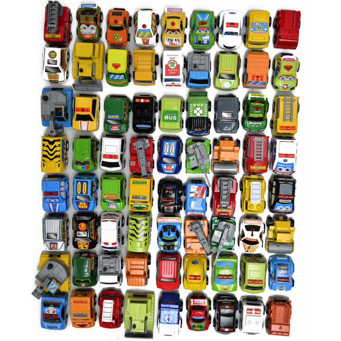 Free shipping! 35pcs /lot Pull Back Mini Car Toys Children Racing Car Police car Fire Truck Kids Figure size Toy gift Wholesale(China (Mainland))