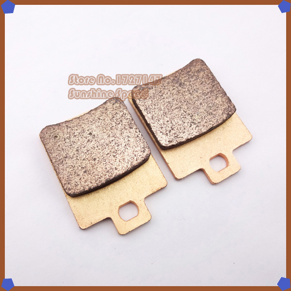Rear Brake Pads for 150 200 250 300 cc ATV 4 wheeler Pit Dirt Bike ATV Quad Motor Moped Buggy Scooter Motorcycle(China (Mainland))