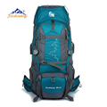 JINSHIWEIQI 85L Large Outdoor Backpack Waterproof Travel Bags Camping Hiking WomenClimbing Backpacks Rucksack Men Sport bag