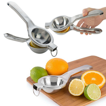Free Shipping Stainless Steel Fruit Lemon Lime Orange Squeezer Juicer Manual Hand Press Tool(China (Mainland))
