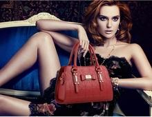 Free Shipping 2016 New Women Top-handle Bag Shoulder Bags PU Leather Handbags Solid Tote Bolsas Feminina Borse Female Fashion