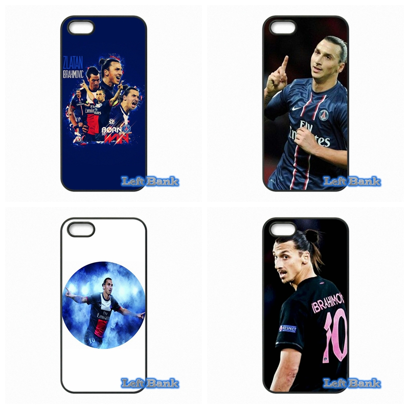 Cover For Apple iPod Touch 4 5 6 For iPhone 4 4S 5 5S 5C SE 6 6S Plus 4.7 5.5 zlatan ibrahimovic PSG Hard Phone Case(China (Mainland))