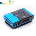 O Protable Mini USB Clip Digital Mp3 Music Player Support 8GB SD TF Card Portable MP3