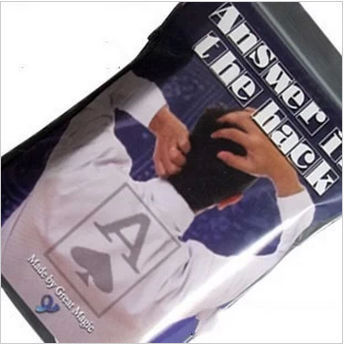 Free shipping amazing ass magic cards find the card by your ass funny cards magic tricks answer in the hack(China (Mainland))