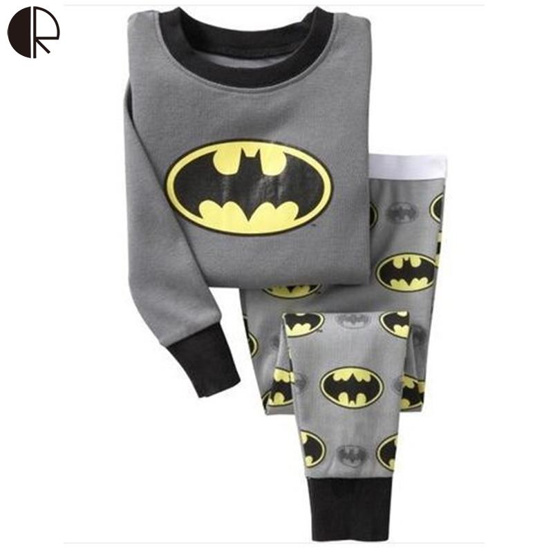 New 2016 2-7 Years Christmas Children Clothing Set Long Sleeve Children Nightie/Pajamas Cotton Children Casual Sleepwear KS538(China (Mainland))