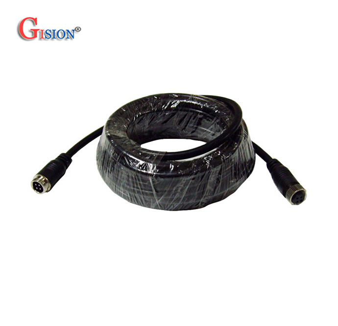 3M Aviation Cable,4 PIN Connector Video Audio Cable,Professional Extend Cable CCTV Camera/DVR - Gision Automobile Security Mall store