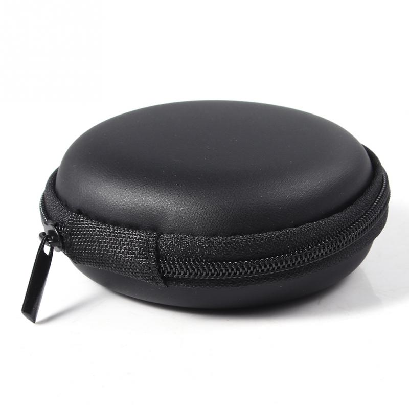 Portable Super Zippered Hard EVA Carrying Case Storage Bag Specially Design For Collecting and Protecting Headphone -PJ(China (Mainland))