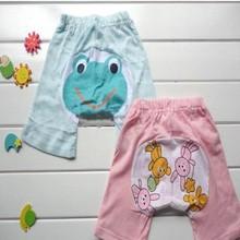 NEW KID BABY TODDLER BOY GIRL CUT PATTERN SUMMER SHORTS TROUSERS PANTS BOTTOMS LKM050-LKM054  Free shipping & Drop shipping(China (Mainland))