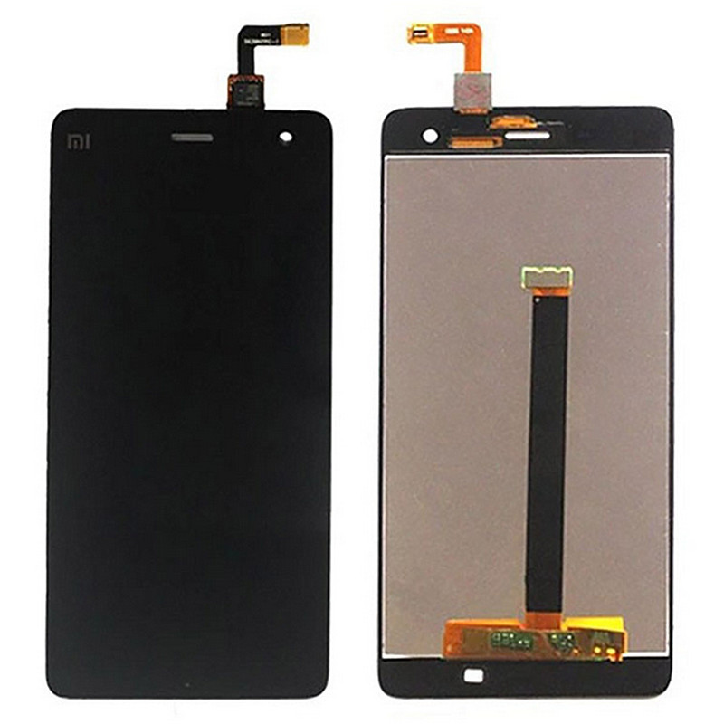 A+ Quality Repair Part Black Xiaomi 4 M4 Mi4 Lcd screen display + Touch panel screen digitizer assembly For Xiaomi 4 Smart phone(China (Mainland))