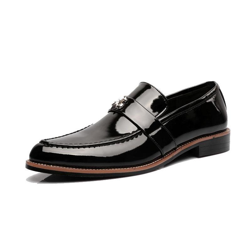 K106 British Style Mens Fashion Brogue Shoes Casual Oxford