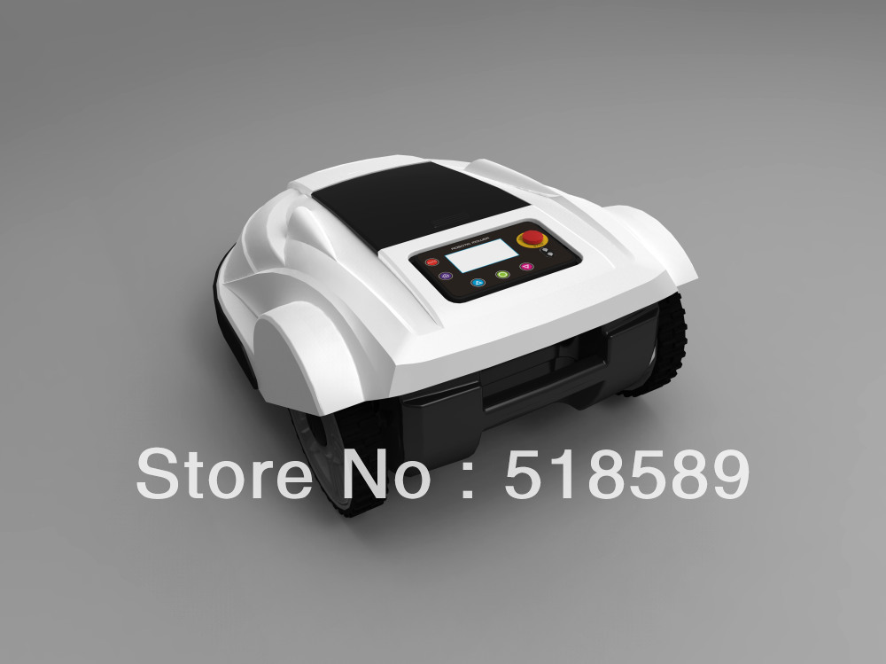 free shipping robot mower supplier, Lead-acid battery, auto recharge, intelligent grass cutter garden tool freeshipping(China (Mainland))