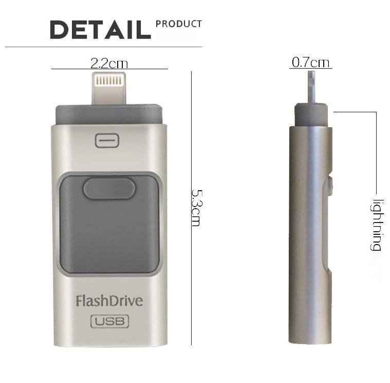 i-Flash Drive 32gb 64gb 128GB Mini Usb Metal Pen Drive Otg Usb Flash Drive For iPhone 5/5s/5c/6/6 Plus/ipad Pendrive(China (Mainland))