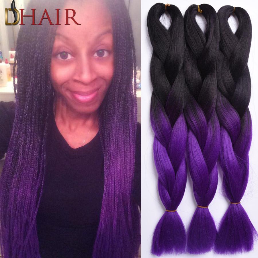Purple Tone Hair Color