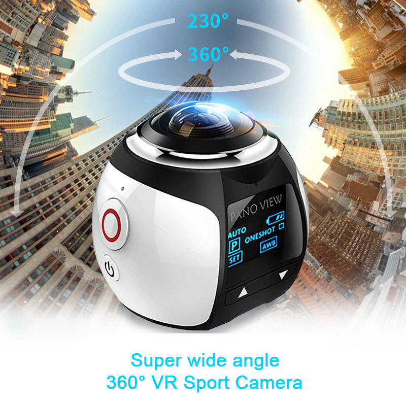 Mini WiFi Video Camera 4K HD 16MP 3D Sport Digital Camera Waterproof Cam DV VR Video Image ABS Camcorder Recorder Home Monitor(China (Mainland))