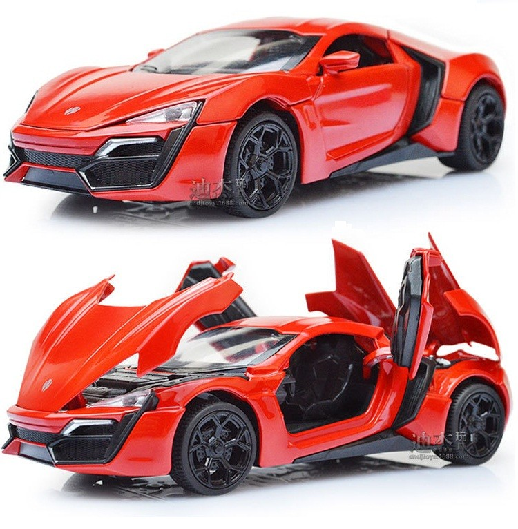 1:32 Scale Bugatti Veyron Alloy Diecast Automobile Mannequin Pull Again Toy Vehicles Digital Automobile with gentle&sound Youngsters Toys Presents