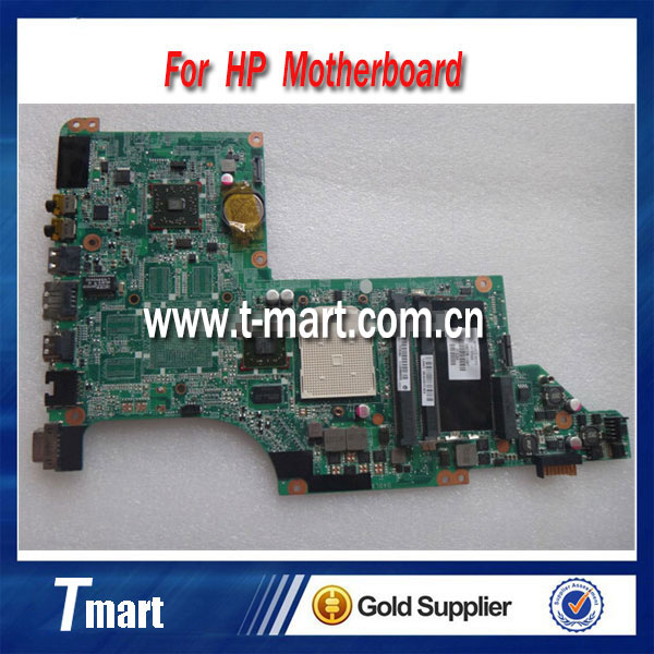 for hp DV6-3000 595135-001 laptop motherboard AMD integrated working well and  full tested