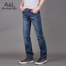 2015 Fashion Cool Casual Men's Cotton Jeans , Good Quality Brand Men Jeans Pants 25(China (Mainland))
