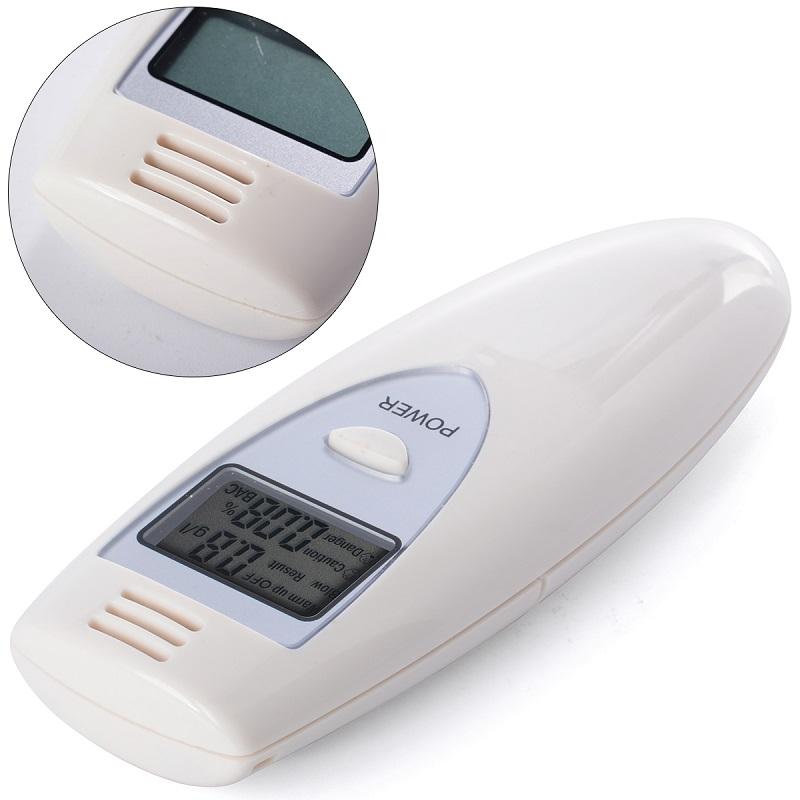 Digital LCD Alcohol Breath Tester Analyzer Breathalyzer Breathalyser Detector Test YB186-SZ(China (Mainland))