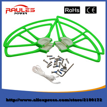 2016 hot sell For Syma X8 X8C x8W x8g 2.4G 4CH 6-axis RC quadcopter protective frame drone spare blade (1 sets of 4 green)