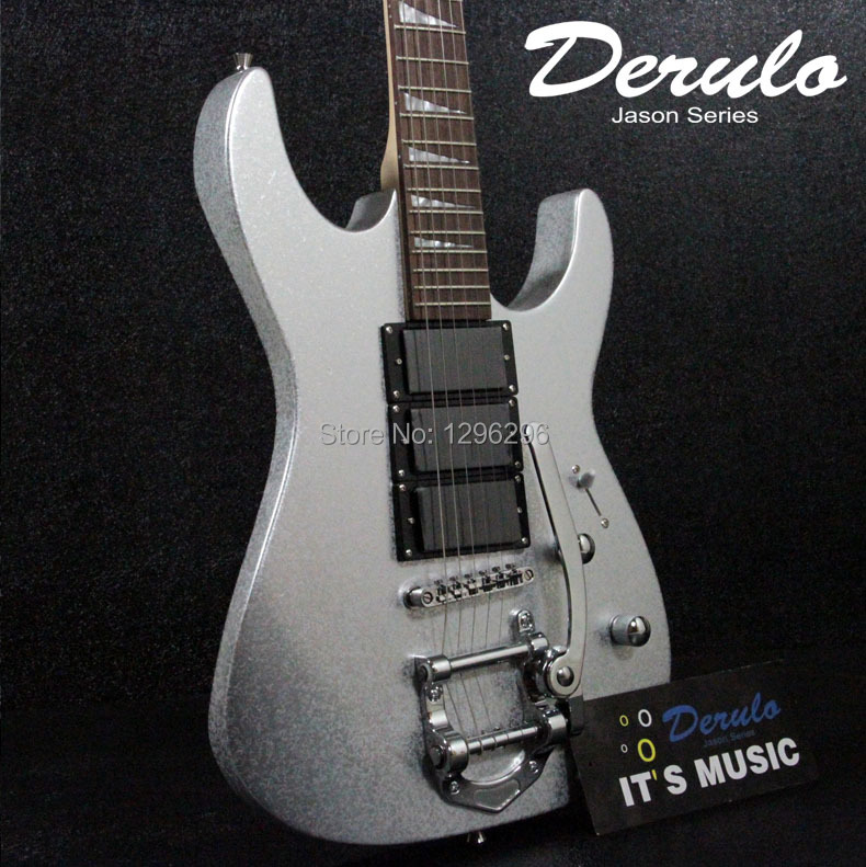 free shipping DRL three pickup hummingbird series big double wave electric guitar import the lacquer that bake Jazz style rocker(China (Mainland))