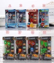 New cartoon earphones Avengers  model in-ear 3.5mm jake  headset  stereo MIC  headphones for iphone 5 5s Nokia  /free shipping