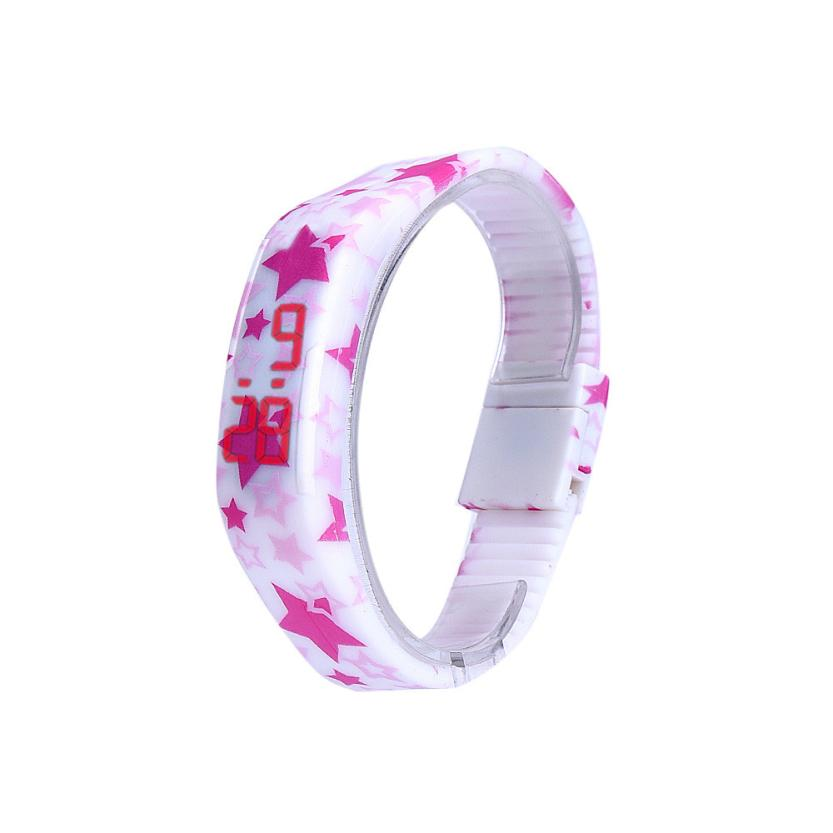 Hot Marketing Men/Women Rubber Red LED Watch Sport Bracelet Digital Wristwatch M31(China (Mainland))