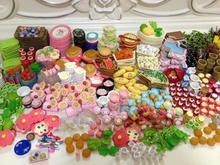 60 unids/lote re-mento 1/12 Mini vajilla comida tauromaquia y fotografía preciosa casa de muñecas comida bebida Megahouse para Barbie muñeca BJD juguetes del juego casa