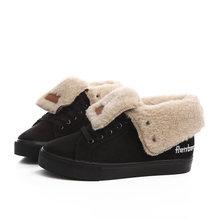 New thời trang lông thú nữ ấm mắt cá chân khởi động phụ nữ khởi động khởi động tuyết và mùa thu mùa đông phụ nữ đôi giày # Y10308Q(China)