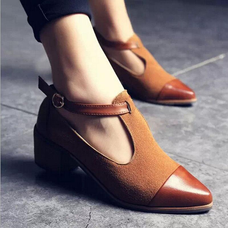 Womens Mid Heel Shoes