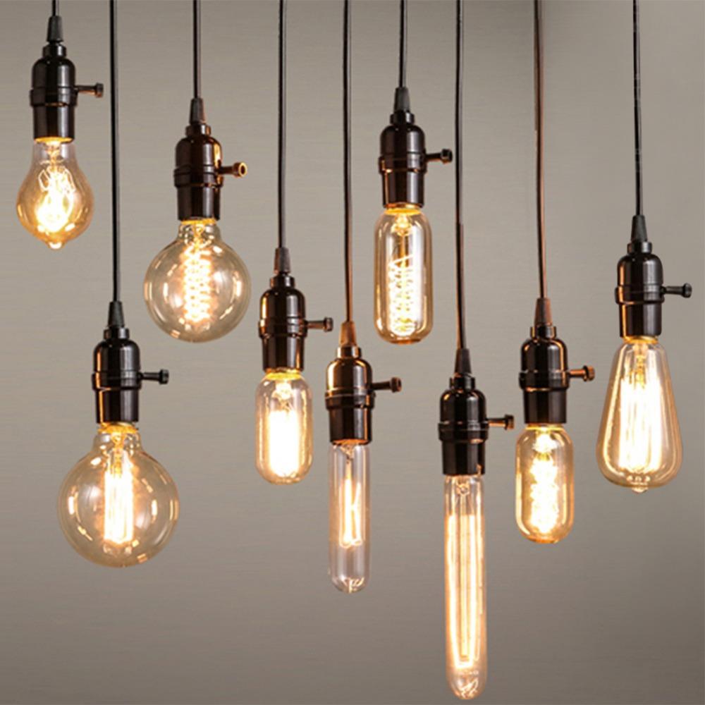 Гаджет  Vintage Edison Bulb Light Lamp AC 110V/220V E27 Vintage Edison Bulbs Incandescent Lamp Decor Light Bulb Warm White YD30 None Свет и освещение