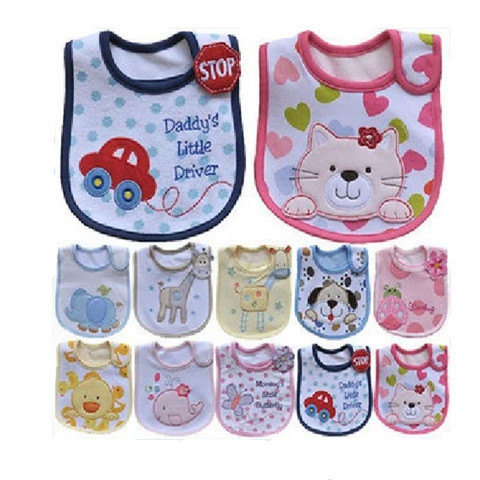 Novely Baby Waterproof Bibs Kids Bandana Bibs Boys Girls Baberos Children Clothing Waterproof  Lunch bibs Infants  Bibs(China (Mainland))