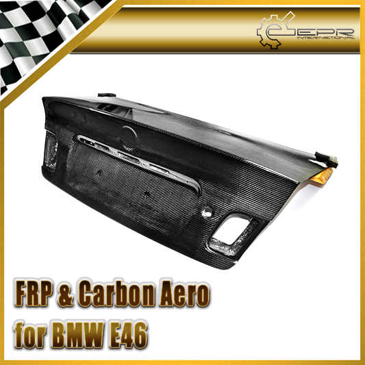New For BMW E46 OEM Rear Trunk Boot Lid Tailgate (2 Door or 4 door, 98-01 or 02-05) Carbon Fiber Car Accessories Car Styling<br><br>Aliexpress