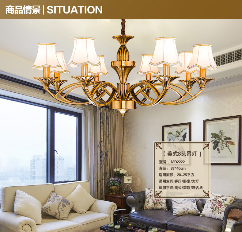 Free shipping 6 and 8 lights fashion contemporary lighting chandelier, Featured Modern Simple Light For Home House Room(China (Mainland))