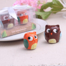 20set  Cute Owl Salt and Pepper Shakers Kitchen Decor Party Favor(China (Mainland))