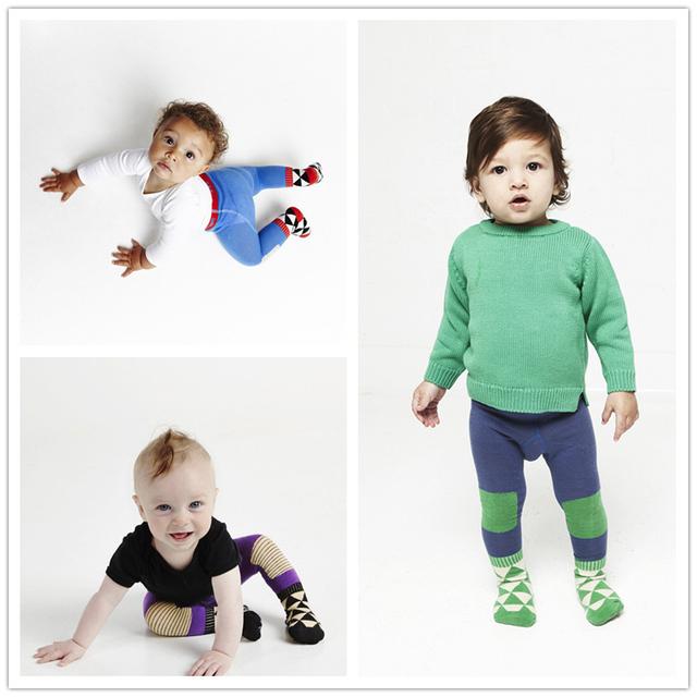 Мода битник ребенок весна и осень колготки мальчики девочки удобный новорожденного ...