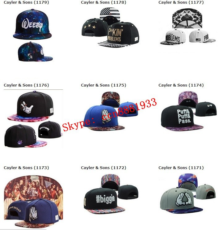 2015 New Arrival Cayler & Sons CHICAGO Snapback Hats Black NO BULL SHIT Cheap Brand Hip Hop mens women snap backs baseball caps(China (Mainland))