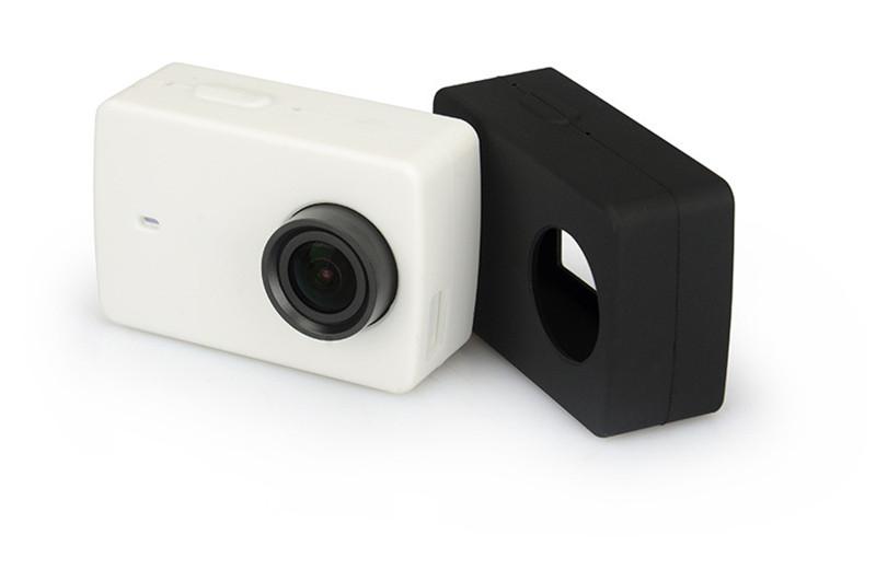 Kingma Xiaomi Yi 4k Screen Protector Film+ Xiaomi Yi 4K II Silicone Case+Lens Cover For Xiaomi yi 4K Action Camera 2 Accessories