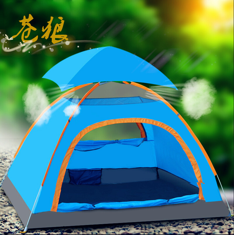2 person pop up beach tent lightweigh party tent as camping equipment cool easy up shade tent for outdoor camping(China (Mainland))