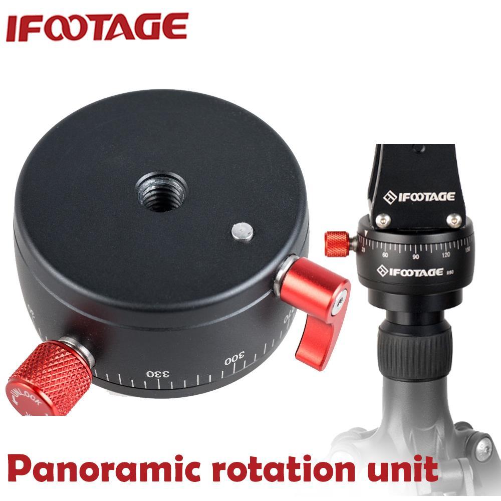 IFOOTAGE Panoramic Rotation Unit R60 Pan Head for Video Crane Jib Tripod Pan Head(China (Mainland))