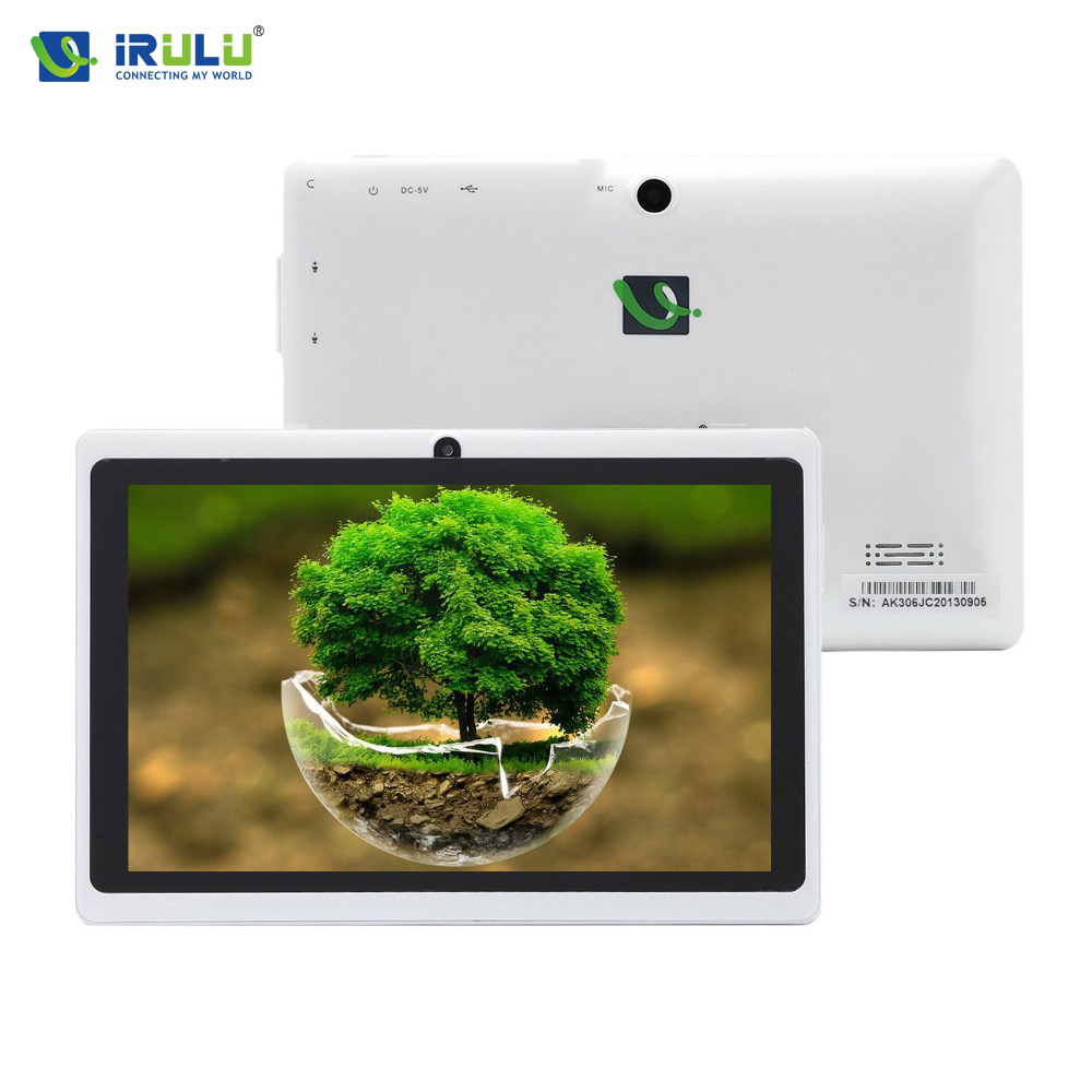 iRULU eXpro 1 X1 7'' Android 4.4 Tablet PC 16GB ROM Quad Core Google Play dual camera Cheap Internet Tablet 2016 New Arrival(China (Mainland))