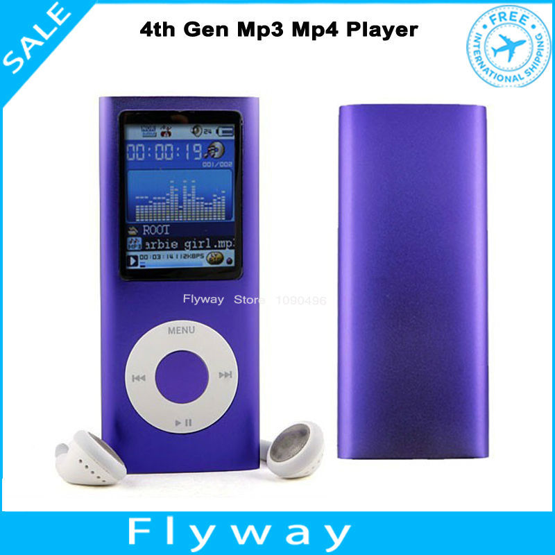 "1.8"" LCD 32GB 4th Gen MP3 Player Digital mp3 MP4 player with Carry Pouch Gift(China (Mainland))"