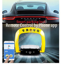 NO PARKING CARS - Remote Control by Phone app Electronic Car Parking Space Lock/IOS/Android(China (Mainland))