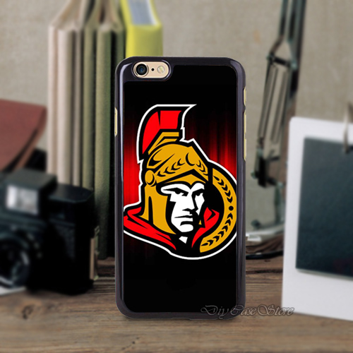 Ottawa Senators Logo NHL Hockey Team Cell Phone Case Cover For iPhone 6 Mobile Phone Cases(China (Mainland))