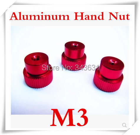 High Quality M3 Aluminum Alloy knurl  Hand Nut for RC <br><br>Aliexpress